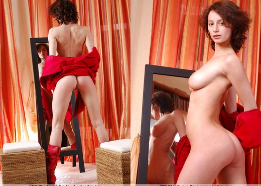 Ginger - Abby - Femjoy - Solo Nude Gallery