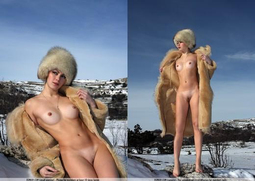 Melting Snow - Abilene - Solo Nude Pics