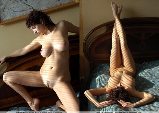 Striped - Katalin - Femjoy - Solo Nude Pics
