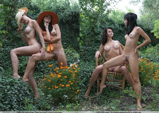 Private Garden - Nonna - Lesbian Hot Gallery