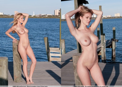 Dock Here - Jaclyn - Femjoy - Solo Sexy Gallery