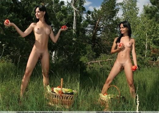 Market Day - Olivia - Femjoy - Solo Nude Gallery