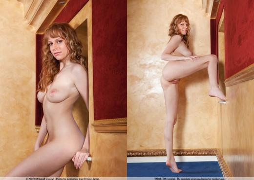 Whispers In The Corridors - Beatrix - Solo Nude Gallery