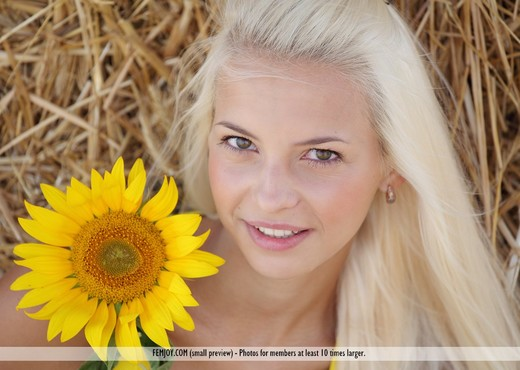 Sunflower - Vika D. - Femjoy - Solo TGP
