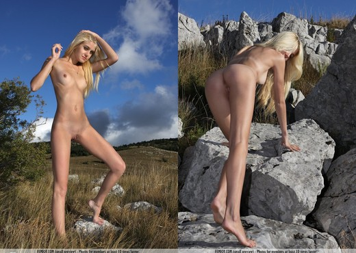 It Does Not Matter - Anja C. - Solo Nude Pics