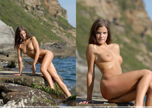 Nudist Beach - Polly - Femjoy - Solo Nude Gallery