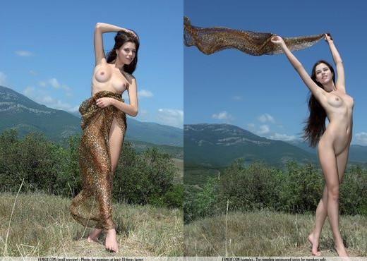 Innocent - Marina T. - Femjoy - Solo Sexy Gallery