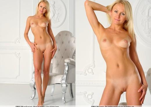 Happy The Man - Victoria K. - Solo Nude Pics