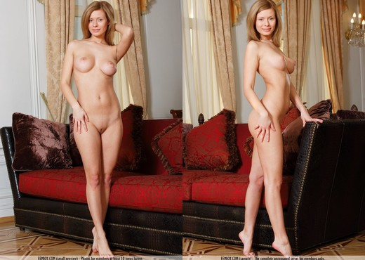 Ready When You Are - Anne P. - Solo Nude Gallery