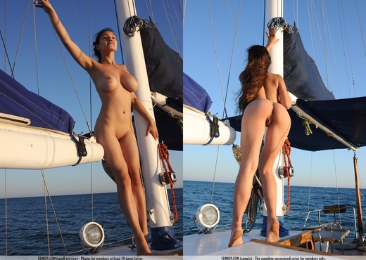 Sail With Me - Sofie - Femjoy - Solo Nude Pics