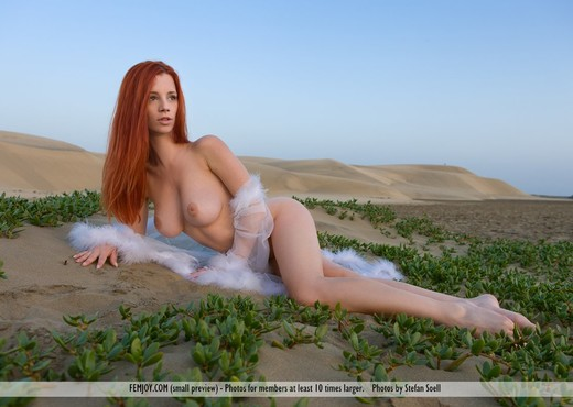 The Heat Is On - Ariel - Solo Sexy Photo Gallery