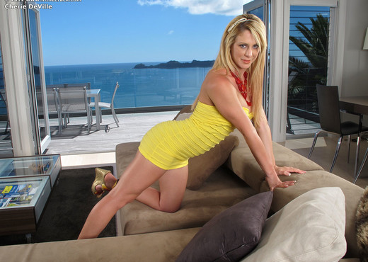 Cherie DeVille - InTheCrack - Toys Sexy Photo Gallery