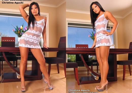 Christina Aguchi - InTheCrack - Asian Sexy Photo Gallery