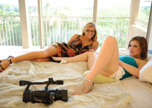 Danielle & Leslie - FTV Girls - Lesbian HD Gallery
