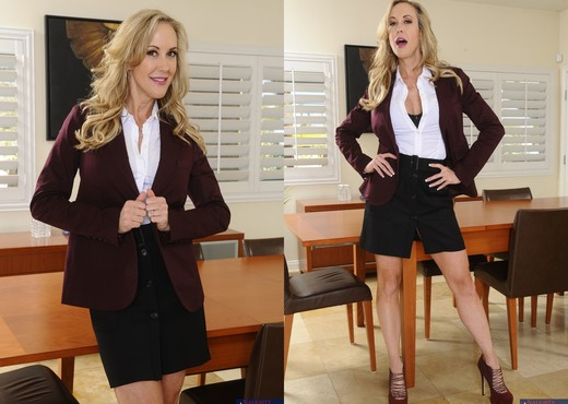 Brandi Love - Naughty Office - MILF Image Gallery