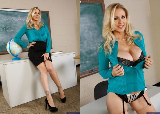 Julia Ann - My First Sex Teacher - MILF Image Gallery