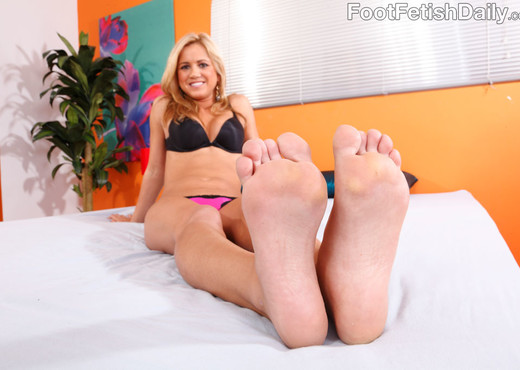 Ashley Abbott Wraps Her Sexy Black Toes Around a Hard Cock - Hardcore Hot Gallery