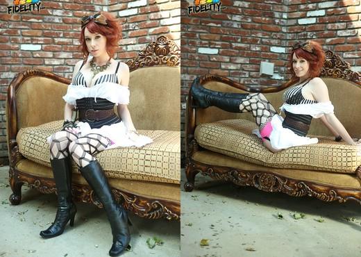 Steam Spunk - Zoey Nixon - Teen Nude Pics