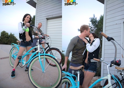 Bike Ridin' - Belle Knox - Teen Sexy Gallery