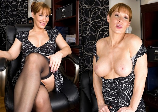 Angela - milf getting naked - MILF HD Gallery