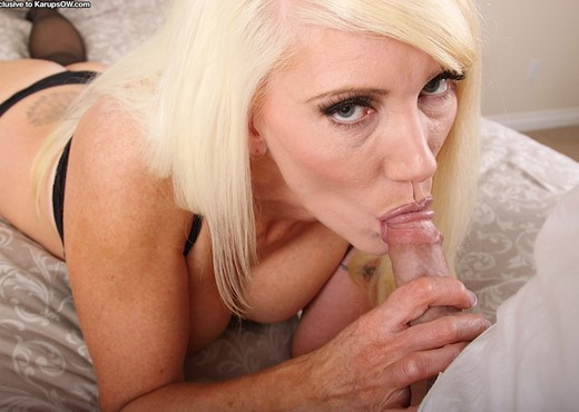 Krystal - Karup's Older Women - Blowjob Image Gallery