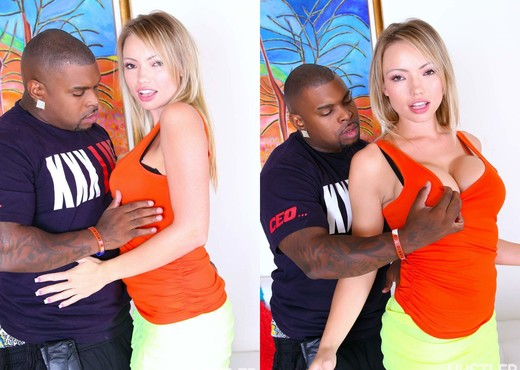 Rico Strong & Maya Hills - Teens Gone Black 2 - Interracial Picture Gallery