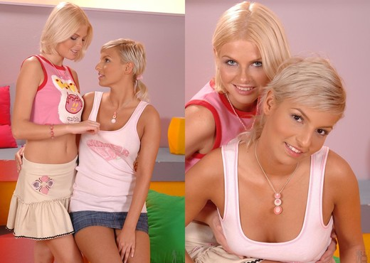 Eva Smile & Wiska - 1by-day - Lesbian HD Gallery