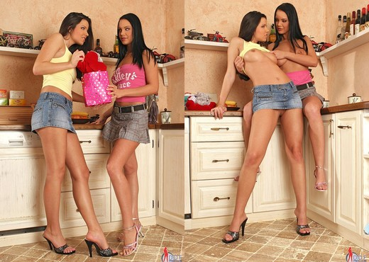 Cindy Lord & Peaches - 1by-day - Lesbian Nude Pics