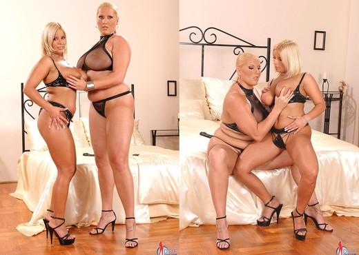 Laura M. & Lucy Love - DDF Busty - Lesbian Sexy Photo Gallery