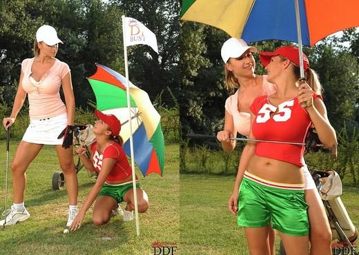Carol Goldnerova & Jannete - DDF Busty - Lesbian TGP