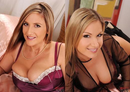 Carol & Jenny Badeau - DDF Busty - Lesbian Hot Gallery