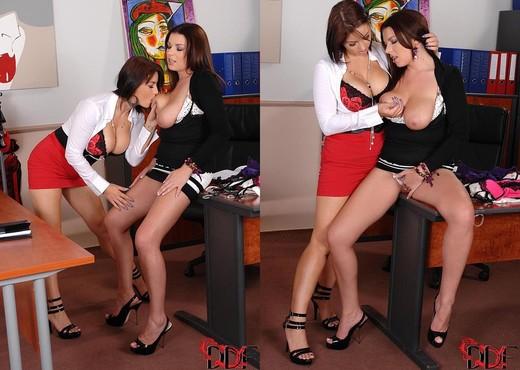 Nanny & Rye - DDF Busty - Lesbian HD Gallery
