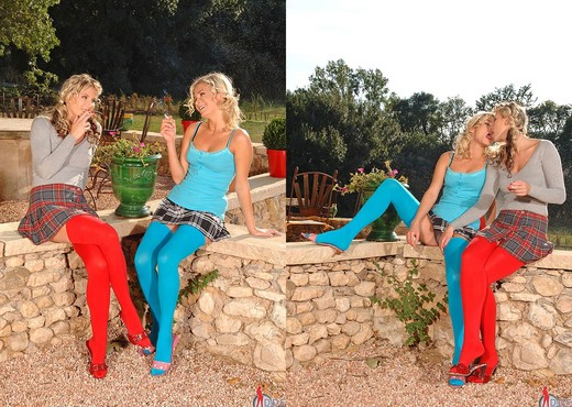 Gina & Laura Crystal - Euro Girls on Girls - Lesbian Sexy Gallery