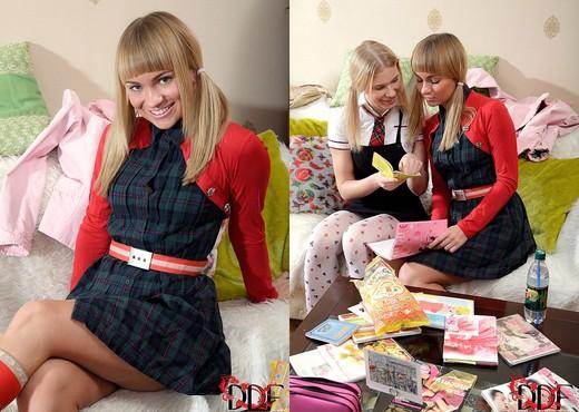 Blake & Irina - Euro Teen Erotica - Lesbian Hot Gallery