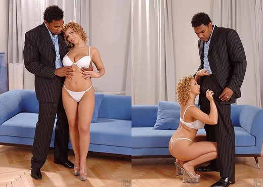 Luba Love - Handson Hardcore - Interracial Picture Gallery
