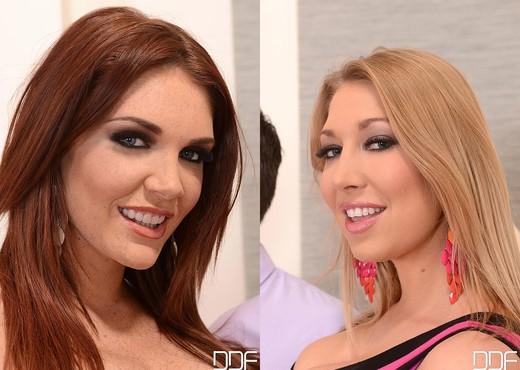 Emma Leigh aka Emma & Lexi Lowe - Blowjob Porn Gallery