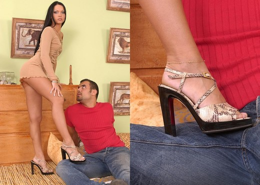 Cristina Bella - Hot Legs and Feet - Feet Hot Gallery