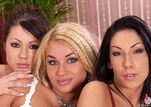 Mya Diamond, Pamela & Priscilla - Lesbian Hot Gallery