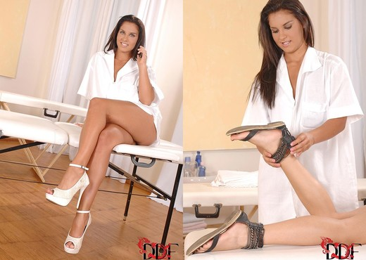 Bettina DiCapri & Blue Angel - Feet Image Gallery