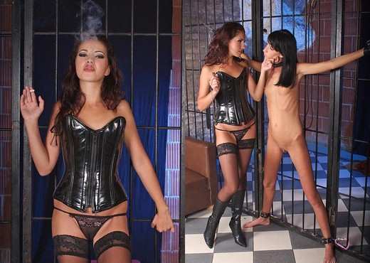 Sophie & Suzie Diamond - House of Taboo - BDSM HD Gallery