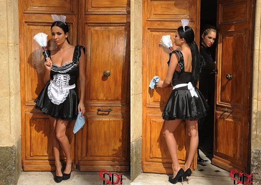 Anissa Kate & Eva Parcker - House of Taboo - BDSM Image Gallery