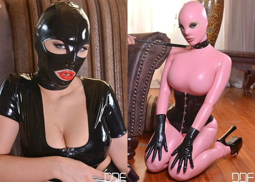 Kyra Hot & Latex Lucy - House of Taboo - Lesbian Picture Gallery