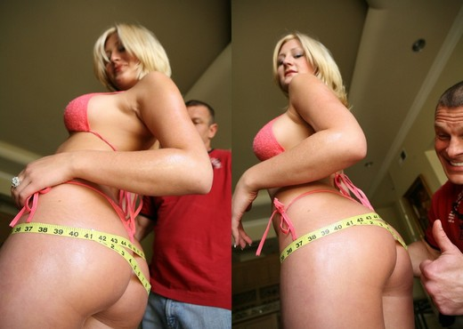 Stacy - Big Blonde Ass - 40 Inch Plus - Ass Image Gallery