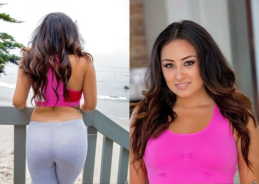 Caroline - Sexy Talk - 8th Street Latinas - Latina Image Gallery