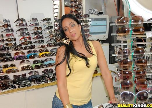 Nadia - Hottie In Briefs - 8th Street Latinas - Latina Sexy Photo Gallery