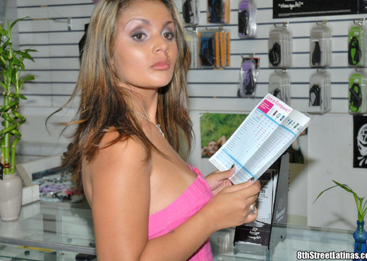 Anell - Cellular Love - 8th Street Latinas - Latina Nude Pics