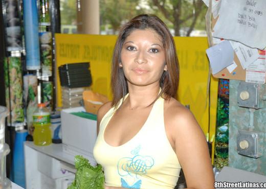 Sandra - Turtle Tush - 8th Street Latinas - Latina Sexy Gallery