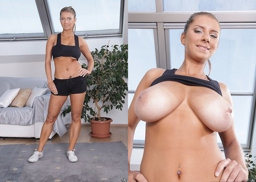 Katerina - Fitness Duo - Big Naturals - Boobs Nude Gallery