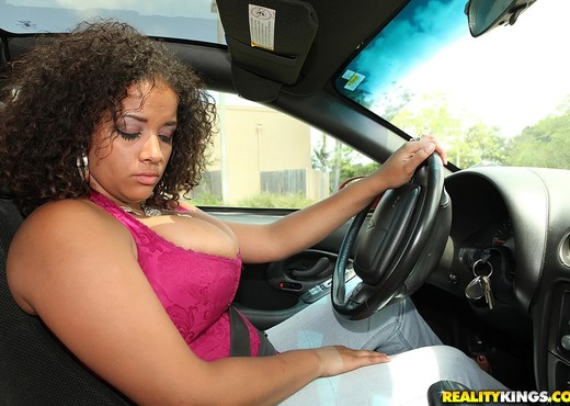 Selena Star - Driving Miss Titty - Big Naturals - Boobs Nude Gallery