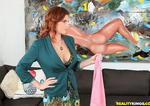 Rainia - Bossy Breast - Big Tits Boss - Boobs HD Gallery